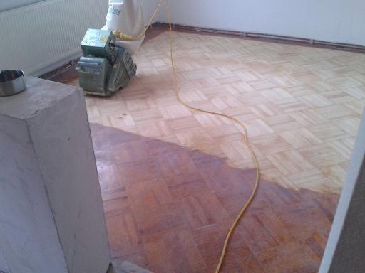 Holzboden-Renovierung